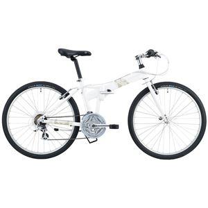 2014モデル DAHON(ダホン) Espresso 26インチ 21speed クラウドホワイト Mサイズ 折りたたみ自転車
