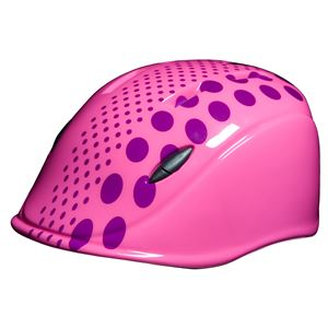 solano(ソラノ) HELMET XSサイズ(46〜51.5cm) Pink dot 対象年齢約1歳〜4歳 SG規格合格品 幼児用ヘルメット