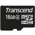 トランセンドジャパン microSDHCカード 16GB Class4 付属品(SDカード変換アダプタ付き) TS16GUSDHC4