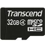 トランセンドジャパン microSDHCカード 32GB Class4 付属品(SDカード変換アダプタ付き) TS32GUSDHC4