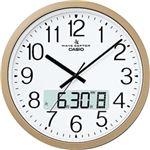 カシオ計算機(CASIO) 電波壁掛け時計 オフィス向け大型タイプ プログラム時報付き IC-4100J-9JF
