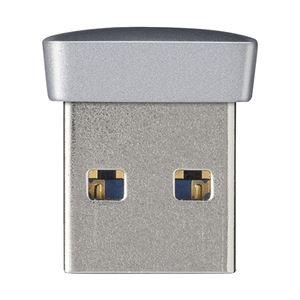 バッファロー USB3.0対応 マイクロUSBメモリー 64GB シルバー RUF3-PS64G-SV