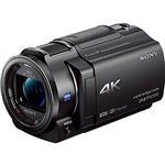 SONY デジタル4Kビデオカメラレコーダー Handycam AX30 ブラック FDR-AX30/B