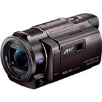 SONY デジタル4Kビデオカメラレコーダー Handycam AXP35 ブロンズブラウン FDR-AXP35/T