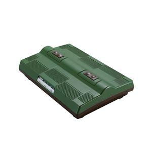 ツインバード工業 タタキ&振動フットマッサージャー (グリーン) EM-2563GR