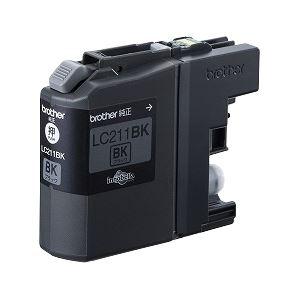 ブラザー工業 インクカートリッジ (黒) LC211BK