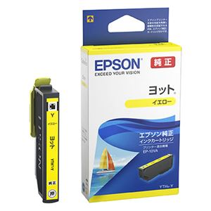 エプソン EP-10VA用 インクカートリッジ(イエロー) YTH-Y
