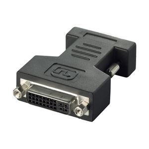 バッファロー(サプライ) BUFFALO ディスプレイ変換アダプター DVI-Iメス:D-Sub15オス BSDCDE02