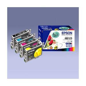 エプソン インクカートリッジ 4色パック IC4CL42