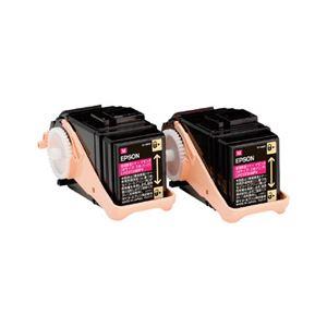 エプソン LP-S7160シリーズ用環境推進トナー/マゼンタ/Mサイズ2本パック(5300ページ×2本) LPC3T33MPV