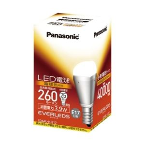 パナソニック(家電) LED電球 3.9W (電球色相当) LDA4LHE17