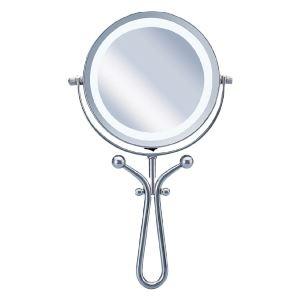 コイズミ ビジョーナ 拡大鏡(引き寄せミラー) 手鏡/卓上タイプ 丸 KBE-3030/S