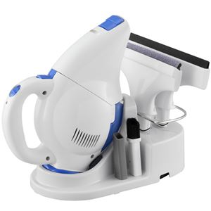 ツインバード工業 コードレス網戸・窓クリーナー (ホワイト) HC-E222W