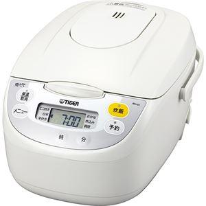 タイガー魔法瓶 マイコン炊飯ジャー <炊きたて> 1升 ホワイト JBH-G181W