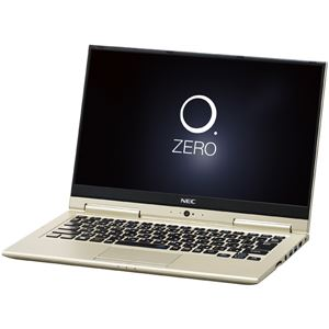 NECパーソナル LAVIE Hybrid ZERO - HZ350/GAG プレシャスゴールド PC-HZ350GAG