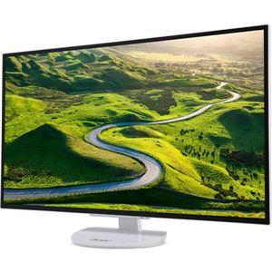 Acer 31.5型ワイド液晶ディスプレイ ER320HQwmidx(半光沢/1920x1080/IPS/250cd/1000:1/4ms/ホワイト/ミニD-Sub15ピン・DVI-D24ピン・HDMI/フリッカーレス/BLフィルター) ER320HQwmidx