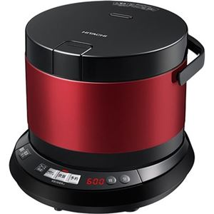 日立製作所 おひつ御膳 IHジャー炊飯器 4.0合 メタリックレッド RZ-WS4MR