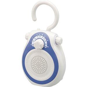コイズミ シャワーラジオ ブルー SAD7714A