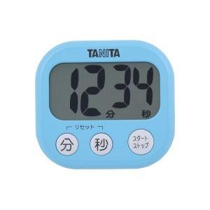 タニタ デジタルタイマー【でか見え】 アクアミントブルー TD384BL