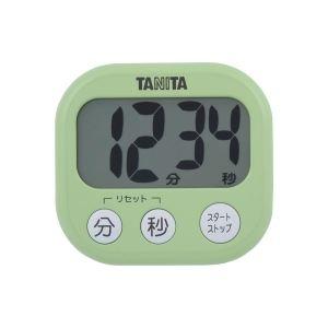 タニタ デジタルタイマー【でか見え】 ピスタチオグリーン TD384GR
