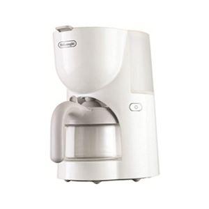 デロンギ トゥルー ドリップコーヒーメーカー (ホワイト) CM200J-WH