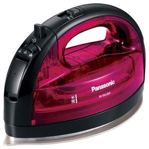 パナソニック(家電) コードレススチームアイロン (ピンク) NI-WL404-P