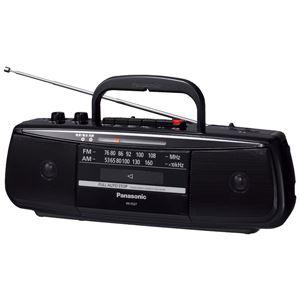 パナソニック(家電) ステレオラジオカセットレコーダー (ブラック) RX-FS27-K