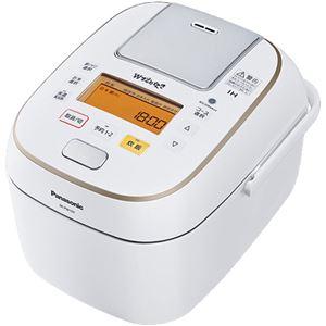パナソニック(家電) 可変圧力IHジャー炊飯器 1.0L (ホワイト) SR-PW107-W