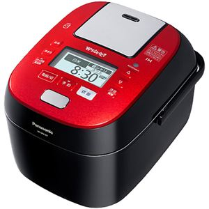 パナソニック(家電) スチーム&可変圧力IHジャー炊飯器 1.0L (ルージュブラック) SR-SPX107-RK