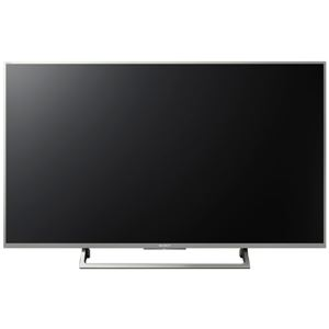 SONY 地上・BS・110度CSデジタルハイビジョン液晶テレビ BRAVIA X8000E 49V型ウォームシルバー KJ-49X8000E/S