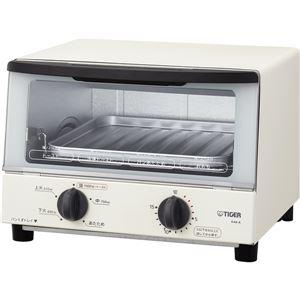 タイガー魔法瓶 オーブントースター ≪やきたて≫ ホワイト KAK-A100W