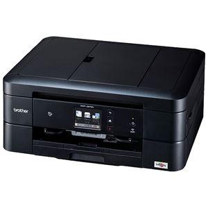 ブラザー工業 A4インクジェット複合機/黒モデル/10/12ipm/両面印刷/有線・無線LAN/ADF/手差しトレイ/レーベル印刷