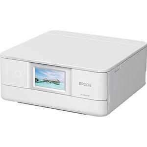 エプソン A4インクジェットプリンター/カラリオ/多機能モデル/6色染料/有線・無線LAN/Wi-FiDirect/両面/4.3型ワイドタッチパネル/ホワイト