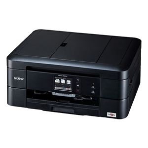 ブラザー工業 A4インクジェット複合機/FAX/10/12ipm/両面印刷/有線・無線LAN/ADF/手差しトレイ/レーベル印刷