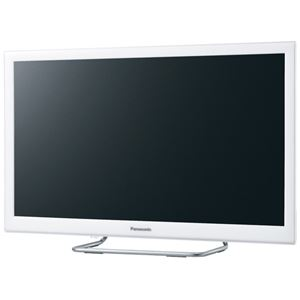 パナソニック(家電) 24V型地上・BS・110度CSデジタルハイビジョン液晶テレビ (ホワイト)