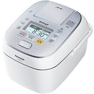 パナソニック(家電) スチーム&可変圧力IHジャー炊飯器 1.0L (スノークリスタルホワイト)