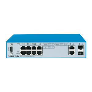 APRESIA Systems ApresiaLightFM108GT-PoE【5年間無償保証付き(先出しセンドバック他)】PoE対応レイヤー2スイッチングHUB (50℃耐熱)
