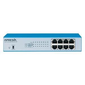 APRESIA Systems ApresiaLightGB108-SS【5年間無償保証付き(先出しセンドバック他)】レイヤー2スイッチングHUB (FANレス/50℃耐熱)