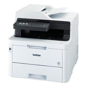 ブラザー工業 A4カラーレーザー複合機/FAX/24PPM/両面印刷/有線・無線LAN/ADF