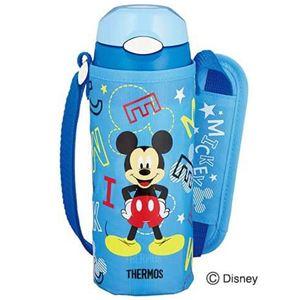 サーモス 真空断熱ストローボトル 0.4L Disney ブルースター