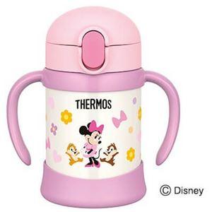 サーモス まほうびんのベビーストローマグ 250ml Disney baby ライトピンク