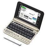 カシオ計算機 電子辞書 EX-word XD-Z6500(160コンテンツ/生活・教養モデル/シャンパンゴールド)
