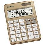 キヤノン 電卓 KS-125WUC-GD SOB