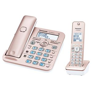 パナソニック(家電) コードレス電話機(子機1台付き)(ピンクゴールド)