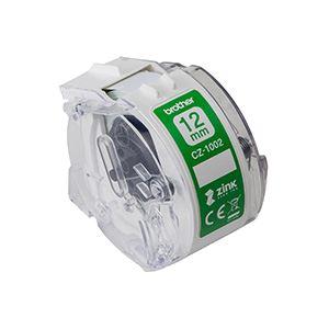 ブラザー工業 感熱カラーラベルプリンター用ロールカセット/幅12mm/長さ5m