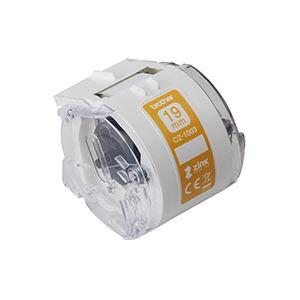 ブラザー工業 感熱カラーラベルプリンター用ロールカセット/幅19mm/長さ5m