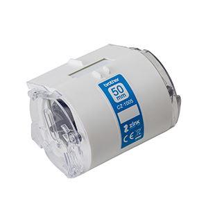ブラザー工業 感熱カラーラベルプリンター用ロールカセット/幅50mm/長さ5m