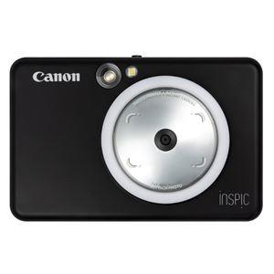 キヤノン インスタントカメラプリンター iNSPiC ZV-123-MBK マットブラック