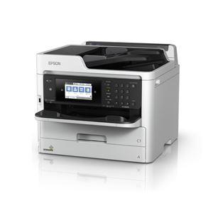 エプソン A4カラービジネスインクジェット複合機/カラー・モノクロ約34PPM/Wi-Fi5GHz対応/4.3型タッチパネル