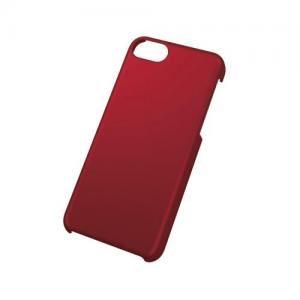 [ELECOM(エレコム)] iPhone 5c用シェルカバー/ラバーレッド PS-A13PVRRD